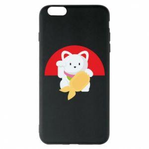 Phone case for iPhone 6 Plus/6S Plus Cat for luck - PrintSalon