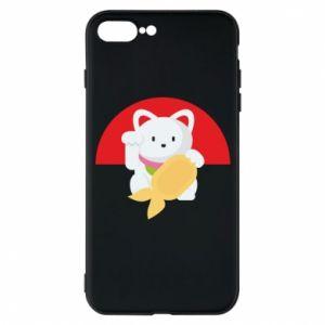 Phone case for iPhone 7 Plus Cat for luck - PrintSalon