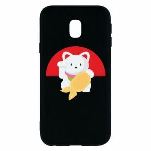 Phone case for Samsung J3 2017 Cat for luck - PrintSalon
