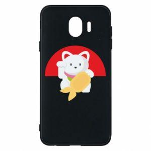 Phone case for Samsung J4 Cat for luck - PrintSalon