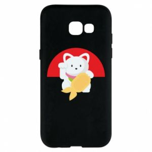 Phone case for Samsung A5 2017 Cat for luck