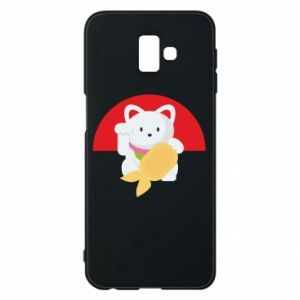 Phone case for Samsung J6 Plus 2018 Cat for luck