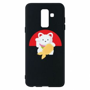 Phone case for Samsung A6+ 2018 Cat for luck