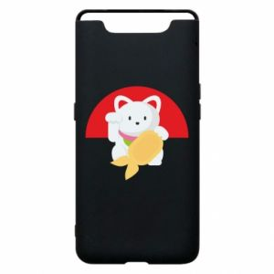 Phone case for Samsung A80 Cat for luck