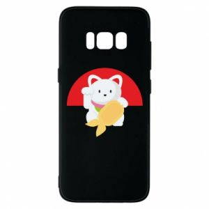 Phone case for Samsung S8 Cat for luck