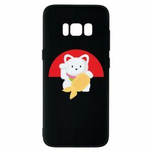 Phone case for Samsung S8 Cat for luck - PrintSalon