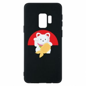 Phone case for Samsung S9 Cat for luck