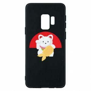Phone case for Samsung S9 Cat for luck - PrintSalon