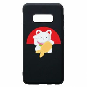 Phone case for Samsung S10e Cat for luck