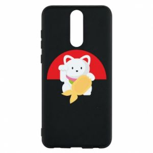 Phone case for Huawei Mate 10 Lite Cat for luck - PrintSalon