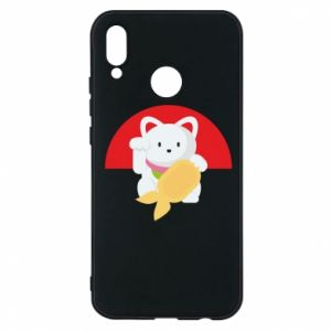 Phone case for Huawei P20 Lite Cat for luck