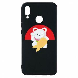 Phone case for Huawei P20 Lite Cat for luck - PrintSalon
