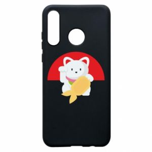 Phone case for Huawei P30 Lite Cat for luck