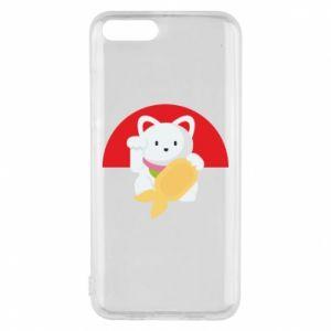 Phone case for Xiaomi Mi6 Cat for luck - PrintSalon