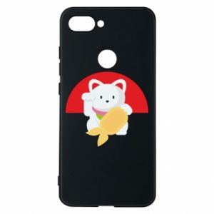 Phone case for Xiaomi Mi8 Lite Cat for luck - PrintSalon
