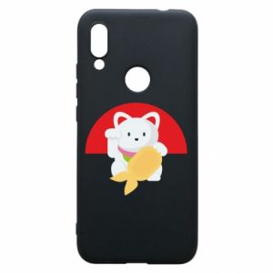 Phone case for Xiaomi Redmi 7 Cat for luck