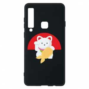 Phone case for Samsung A9 2018 Cat for luck