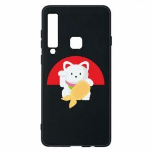 Phone case for Samsung A9 2018 Cat for luck - PrintSalon