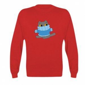 Bluza dziecięca Cat in a sweater