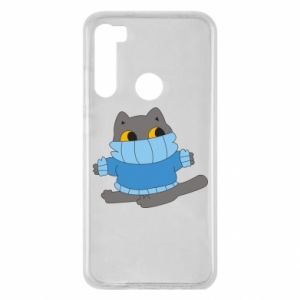 Etui na Xiaomi Redmi Note 8 Cat in a sweater