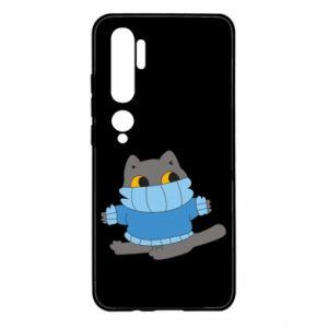 Etui na Xiaomi Mi Note 10 Cat in a sweater