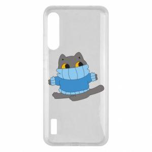 Etui na Xiaomi Mi A3 Cat in a sweater