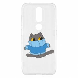Etui na Nokia 4.2 Cat in a sweater