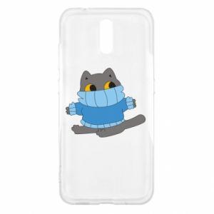 Etui na Nokia 2.3 Cat in a sweater