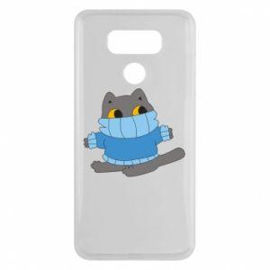 Etui na LG G6 Cat in a sweater