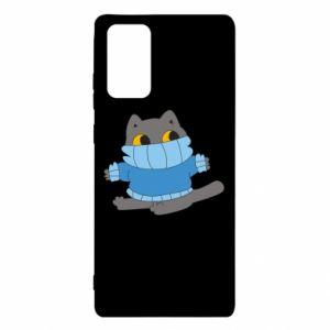 Etui na Samsung Note 20 Cat in a sweater