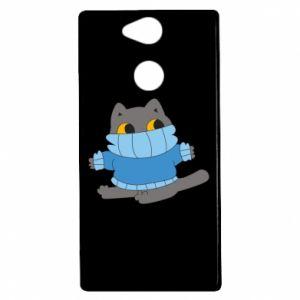 Etui na Sony Xperia XA2 Cat in a sweater