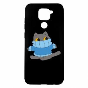 Etui na Xiaomi Redmi Note 9/Redmi 10X Cat in a sweater