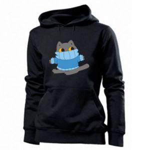 Bluza damska Cat in a sweater