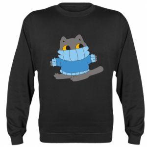 Bluza Cat in a sweater