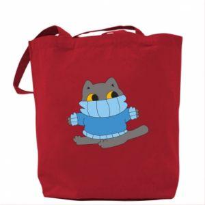 Torba Cat in a sweater