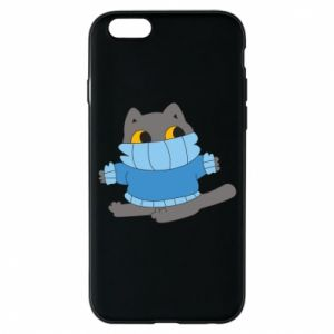 Etui na iPhone 6/6S Cat in a sweater