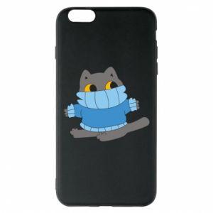 Etui na iPhone 6 Plus/6S Plus Cat in a sweater