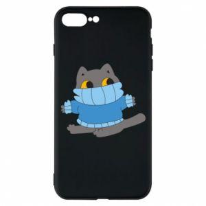Etui na iPhone 7 Plus Cat in a sweater