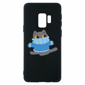 Etui na Samsung S9 Cat in a sweater