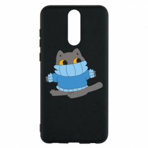 Etui na Huawei Mate 10 Lite Cat in a sweater