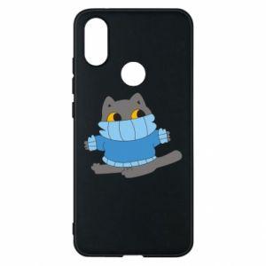 Etui na Xiaomi Mi A2 Cat in a sweater