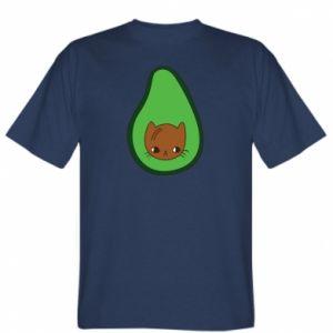 Koszulka męska Cat in avocado