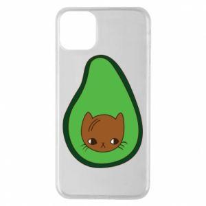Etui na iPhone 11 Pro Max Cat in avocado
