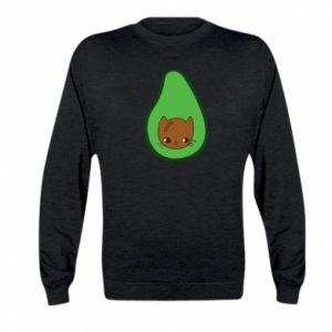 Bluza dziecięca Cat in avocado