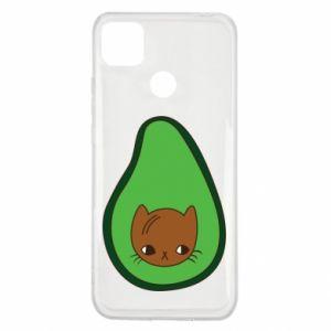 Etui na Xiaomi Redmi 9c Cat in avocado