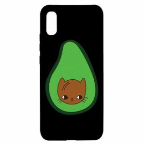 Etui na Xiaomi Redmi 9a Cat in avocado