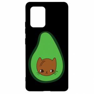 Etui na Samsung S10 Lite Cat in avocado