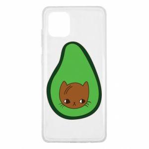 Etui na Samsung Note 10 Lite Cat in avocado