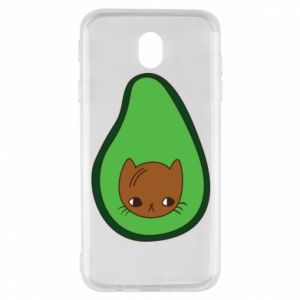 Etui na Samsung J7 2017 Cat in avocado