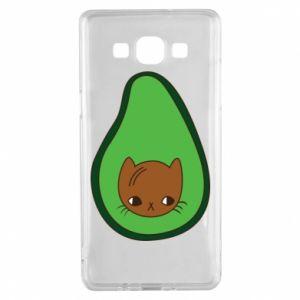 Etui na Samsung A5 2015 Cat in avocado